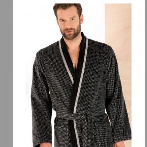 4839 Халат мужской кимоно 100% хлопок CAWO