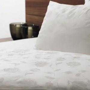 TENCEL 2000 Постельное белье HEFEL 1000-010 ROSES WHITE