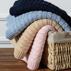 LUNA WOVEN Плед 100% cotton CASUAL AVENUE;