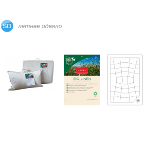 BIO-LINEN SUMMER Одеяло летнее 100% лен HEFEL
