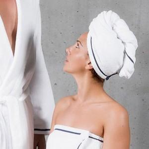 SAXO Полотенце тюрбан для волос ABYSS & HABIDECOR