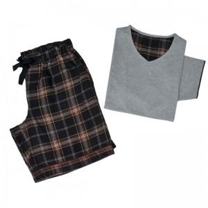 EDWARD Пижама мужская (футболка + брюки) 100% хлопок CASUAL AVENUE