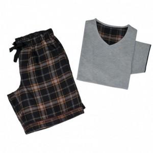 EDWARD Пижама мужская (футболка + шорты) 100% хлопок CASUAL AVENUE