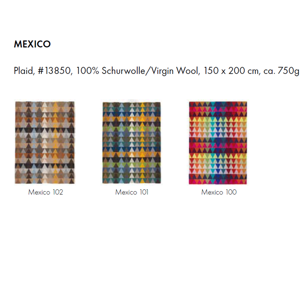 MEXICO Плед 100% Шерсть ягненка EAGLE PRODUCTS