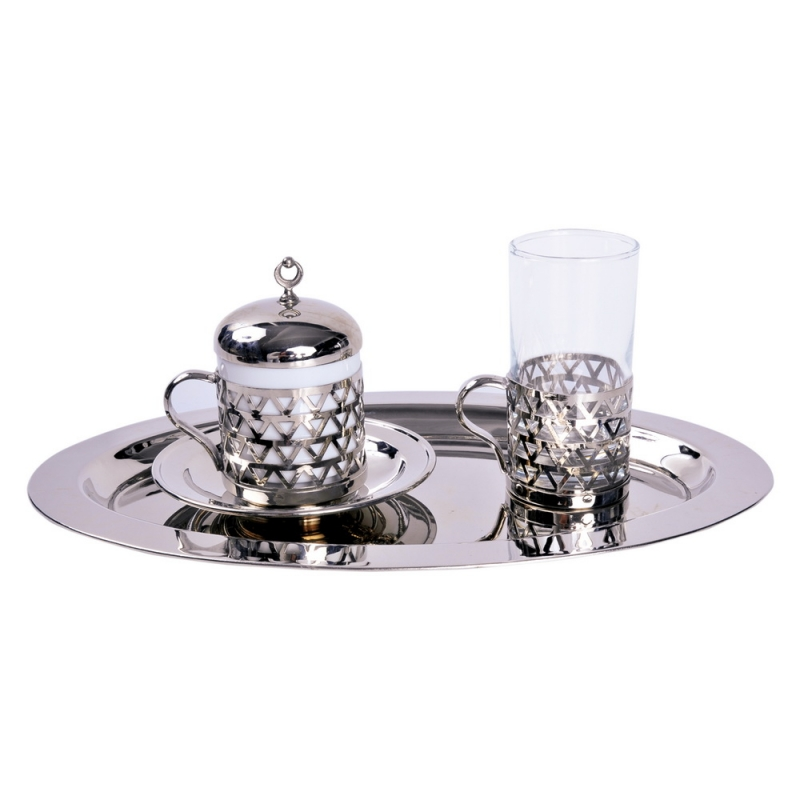 COFFEE SINGLE CUP SET COPPER Кофейный набор HAMAM